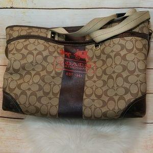 Coach signature L0773-11763 diaper bag large